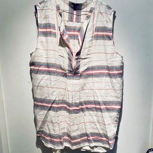 J. Crew Linen Tank Dress Women's XL